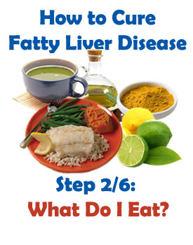 Foods that heal fatty liver