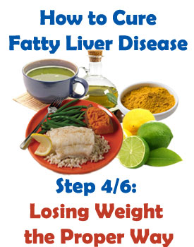 lose weight to heal liver